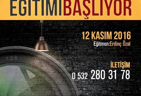 TEMEL FOTOĞRAF EĞİTİMİ KURS PROGRAMI 12 KASIM 2016 TARİHİNDE BAŞLIYOR..